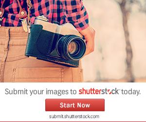 ShutterStock(シャッターストック)に登録しました