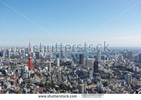 2009年に撮影した東京の街並み