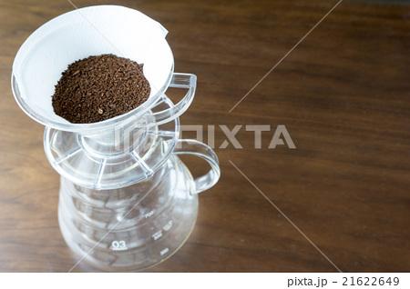 コーヒーを入れるところ