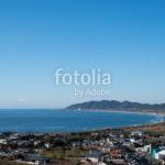 館山の海岸